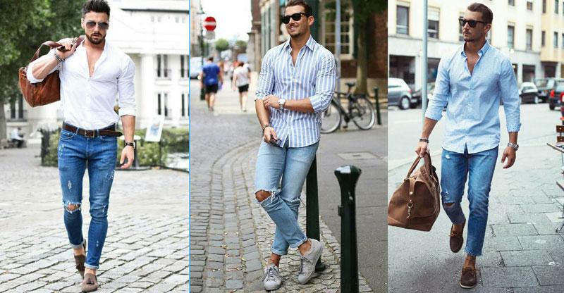 Cách phân loại quần jeans nam đẹp