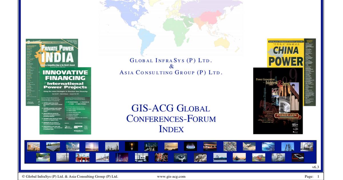 0000-01 GIS-ACG Directory of Conferences-Forum Dir_C pdf