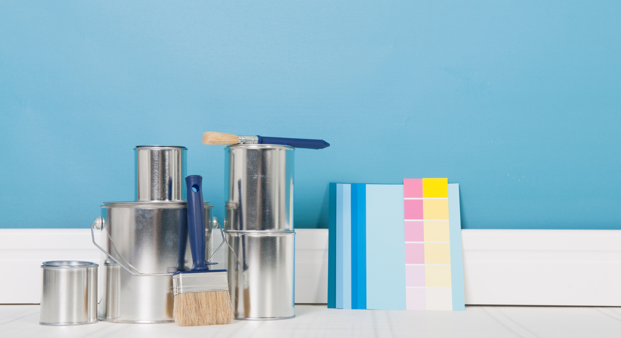 interior painting tools needed to complete an interior painting DIY project