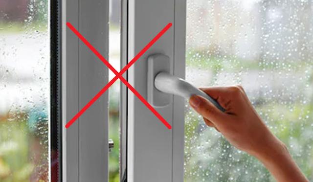 Bạn hãy đóng cửa phòng khi dùng máy phun sương