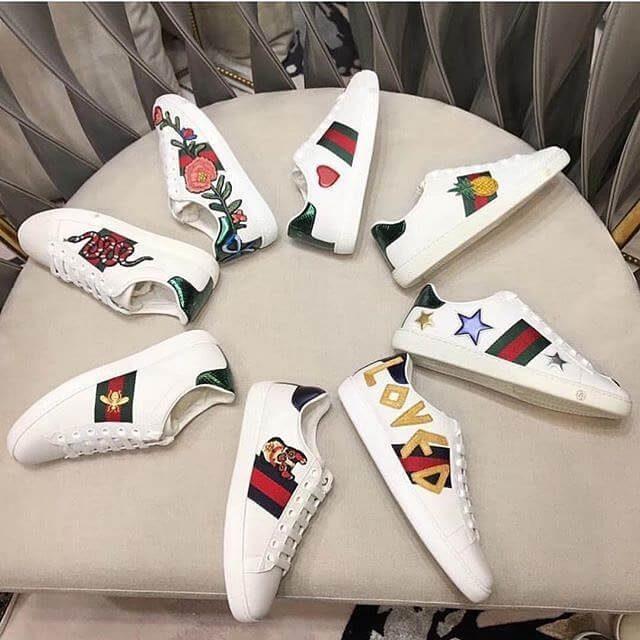 Những đôi giày đến từ thương hiệu thời trang cao cấp