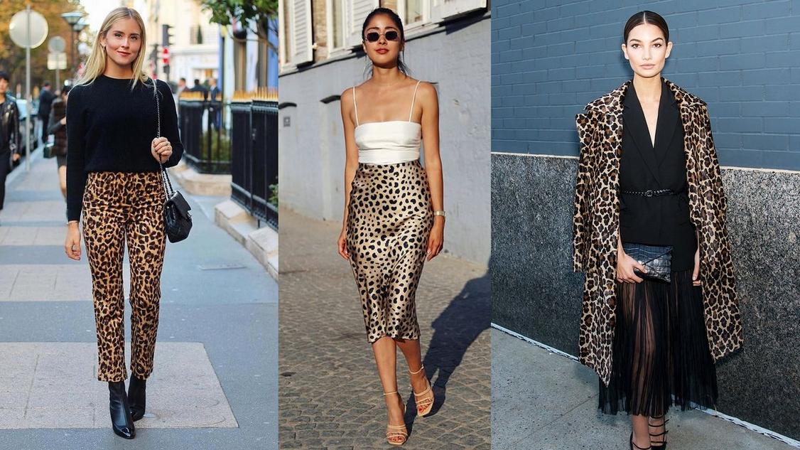 9. เสื้อลายเสือดาว เรียกกันว่า Leopard Print