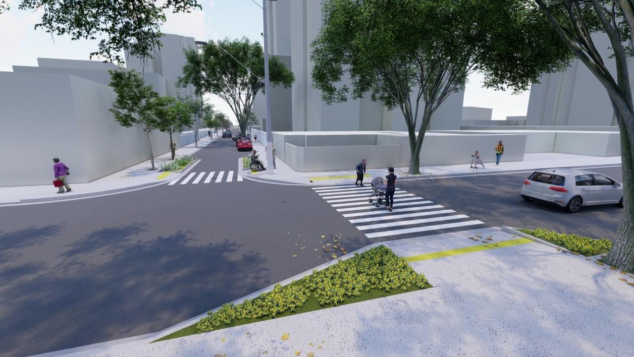 O Plano Emergencial prevê requalificação de calçadas paulistanas. (Fonte: Prefeitura de São Paulo)