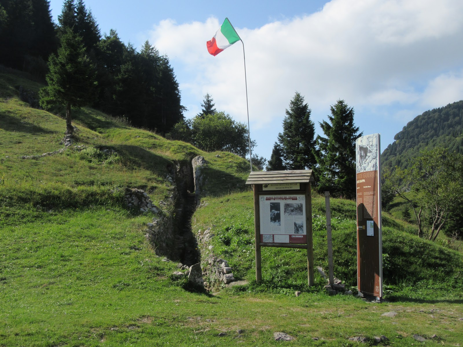 Cycling Monte Grappa - Cavaso del Tomba - WW I memorial