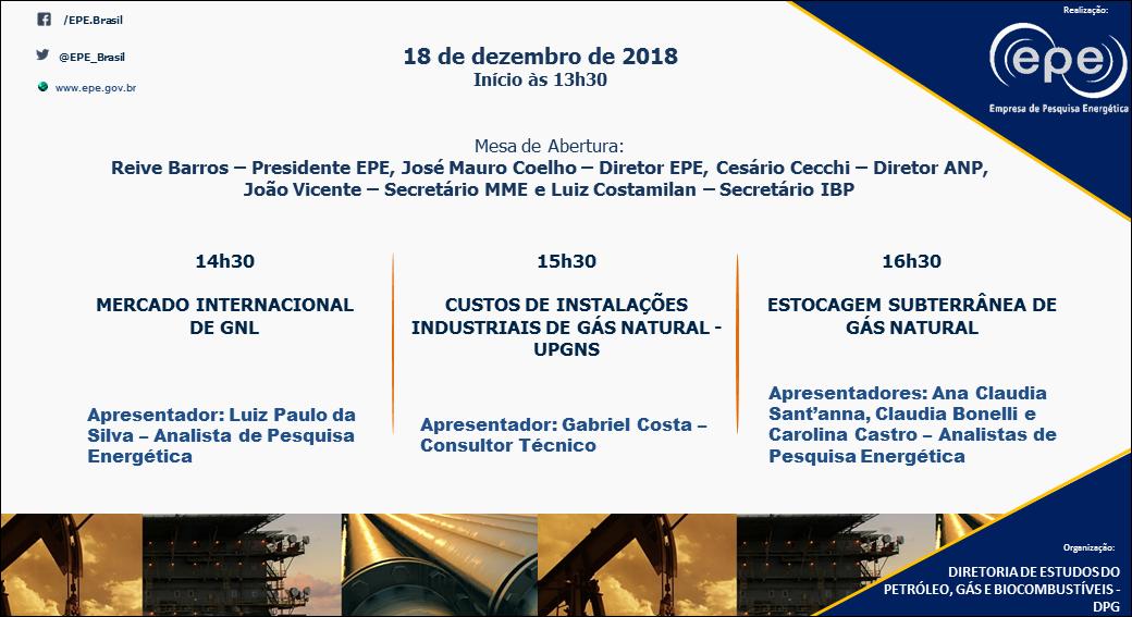 Lançamento de Notas Técnicas EPE @ Rio de Janeiro