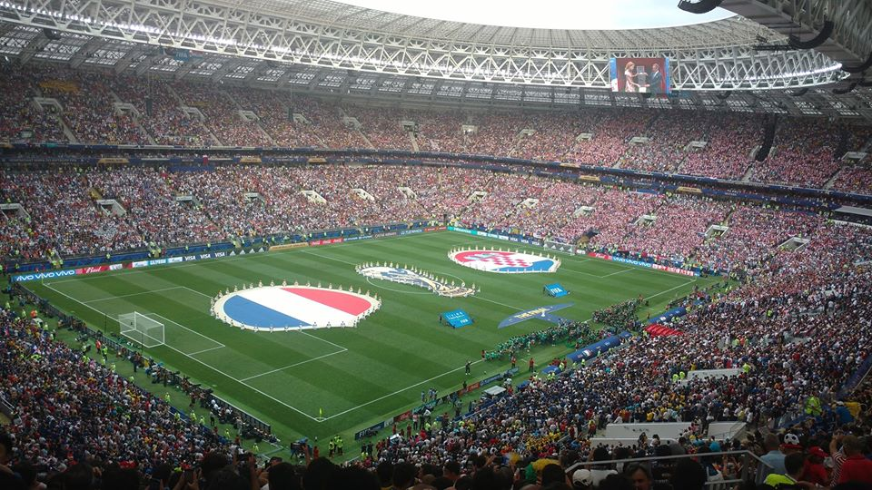 The World Cup Final between France and Croatia, Russia 2018 | Image courtesy of Wikipedia