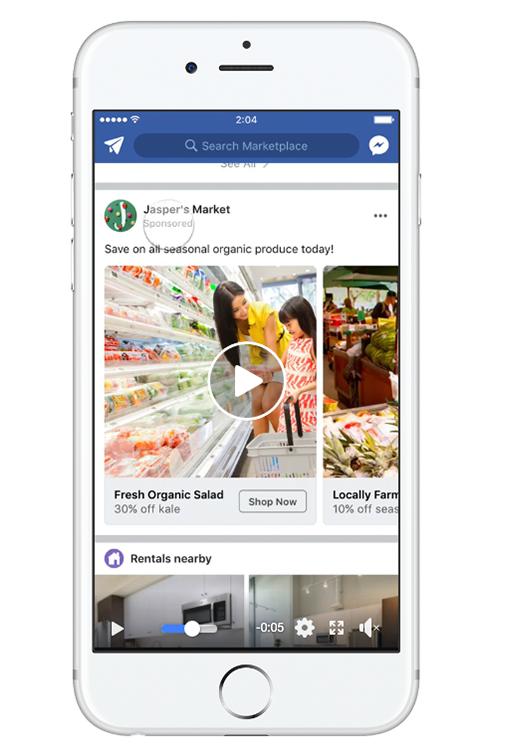Facebook Ad Size Facebook Marketplace Video Ad