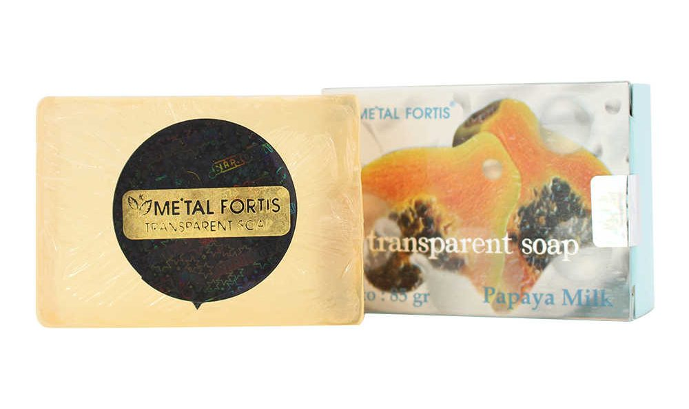 Metal Fortis Papaya Milk Soap