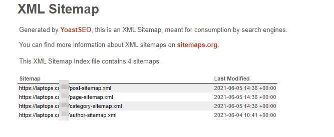 Generate XML Sitemap