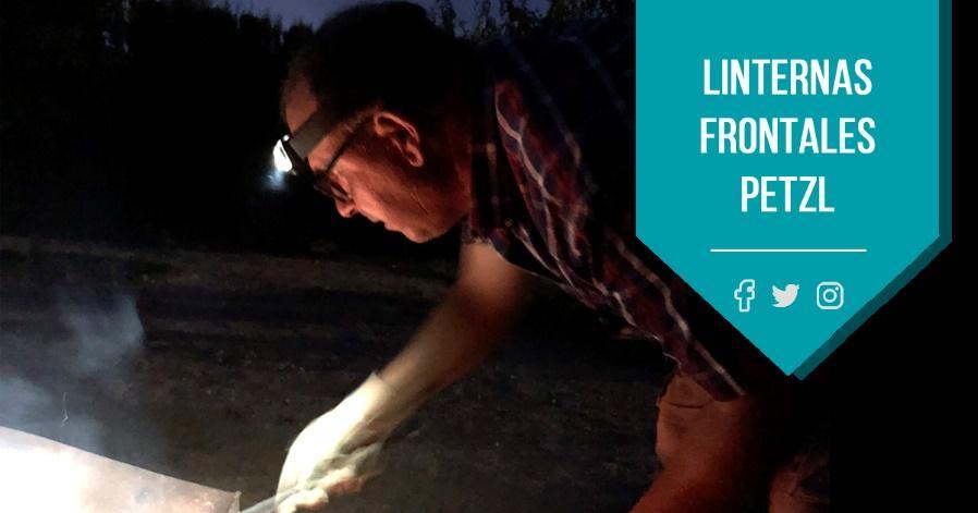 Artículo blog Prolaboral: Linternas frontales PETZL