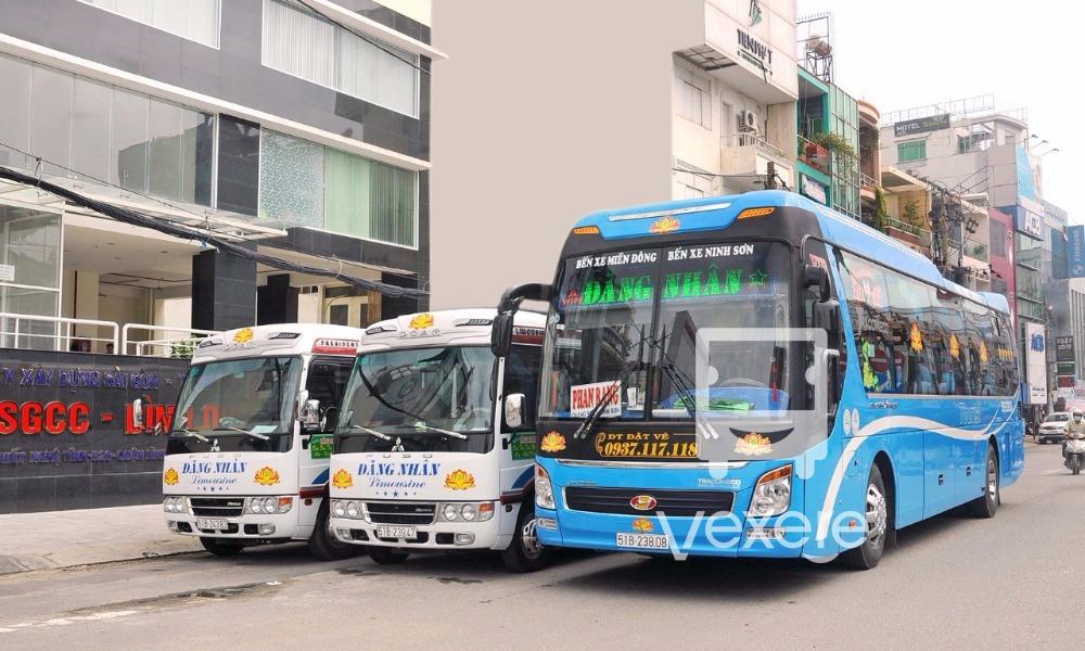 Xe Đăng Nhân từ Sài Gòn đi Phan Rang