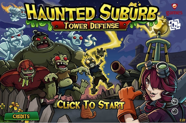 Haunted Suburb Tower Defe…