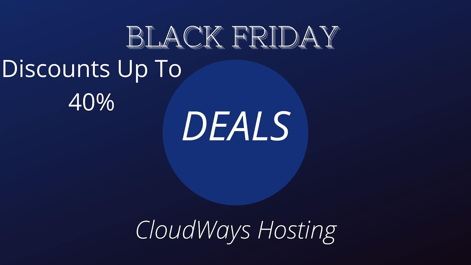 CloudWays: Discounts Up To 40%