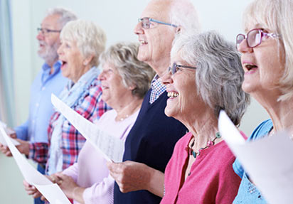 La chorale des aînés