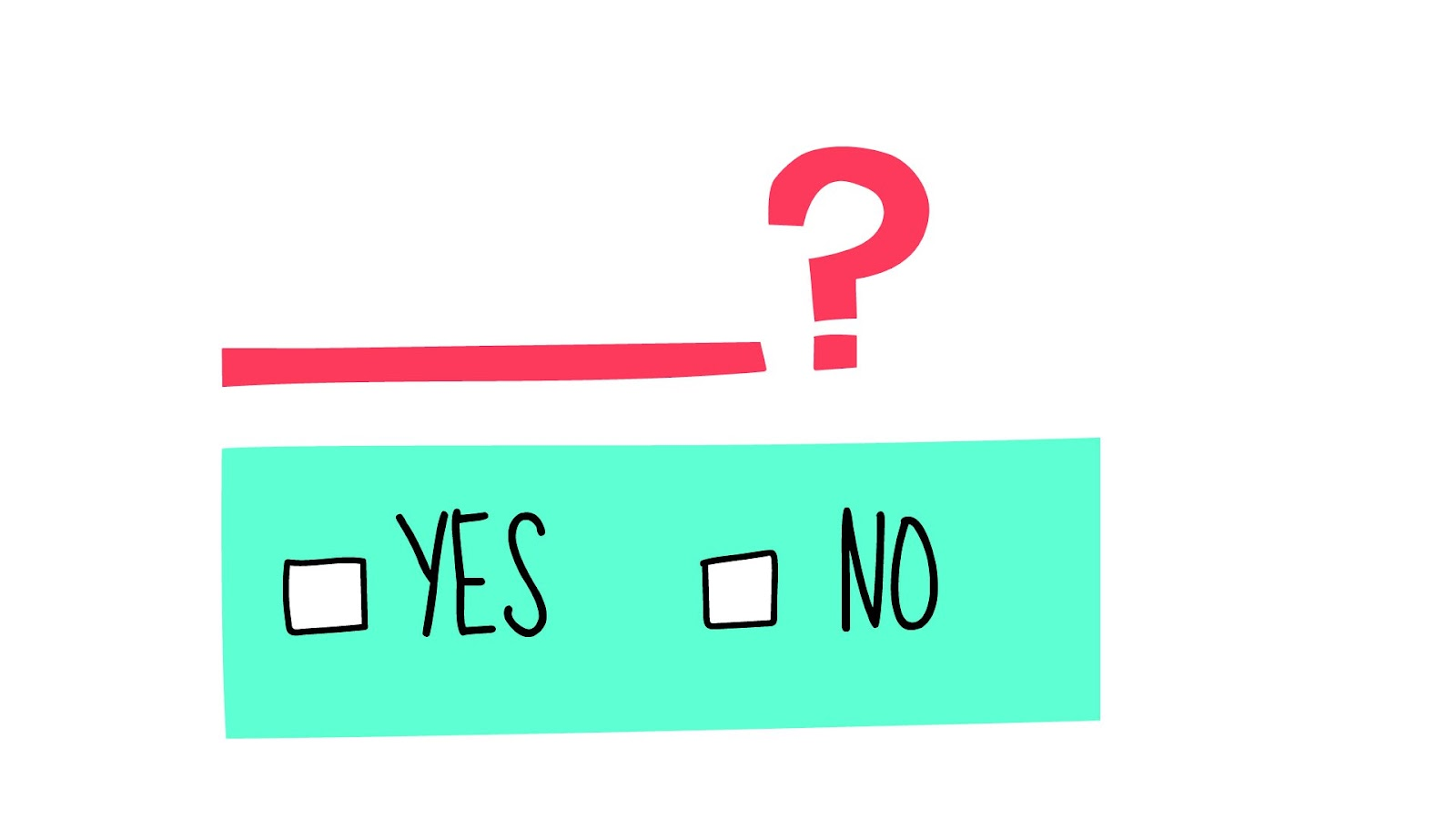 yes or no - types of survey questions
