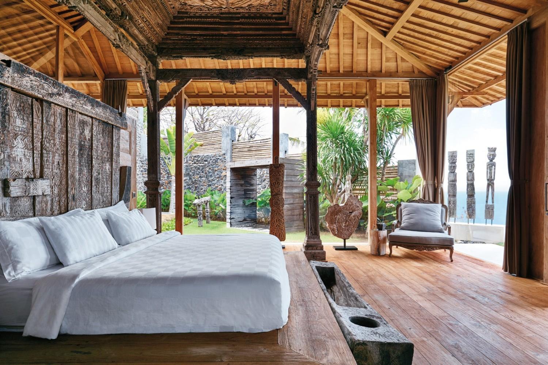 Inspirasi Konsep Interior Rustik dengan Material Rotan dan Kayu - sumber: www.arsitag.com