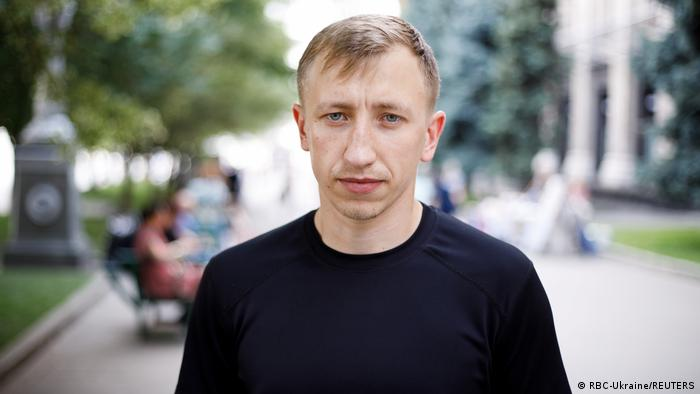 Загиблий у Києві білоруський активіст Віталій Шишов