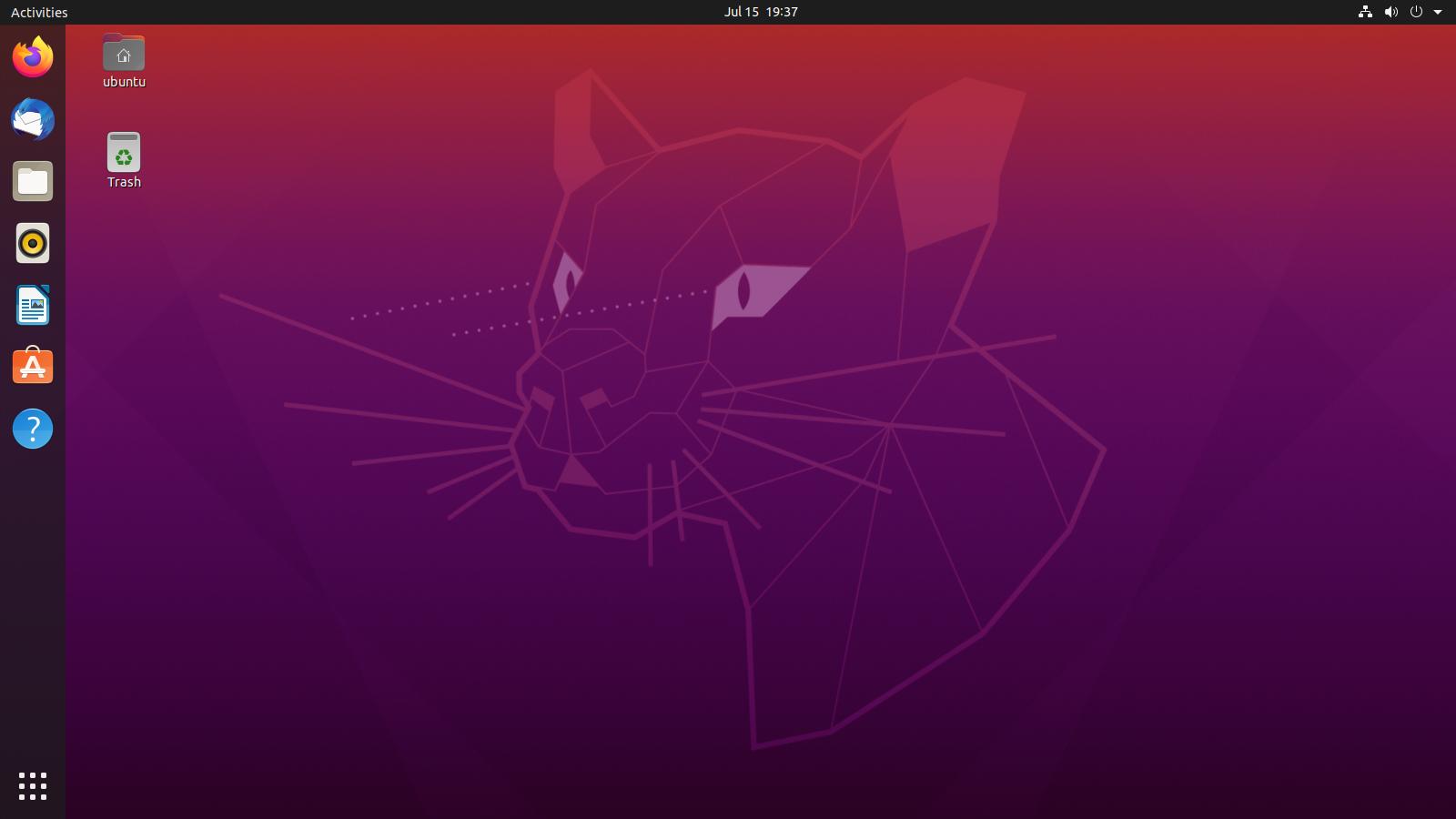 Ubuntu 20.04 Focal Fossa.
