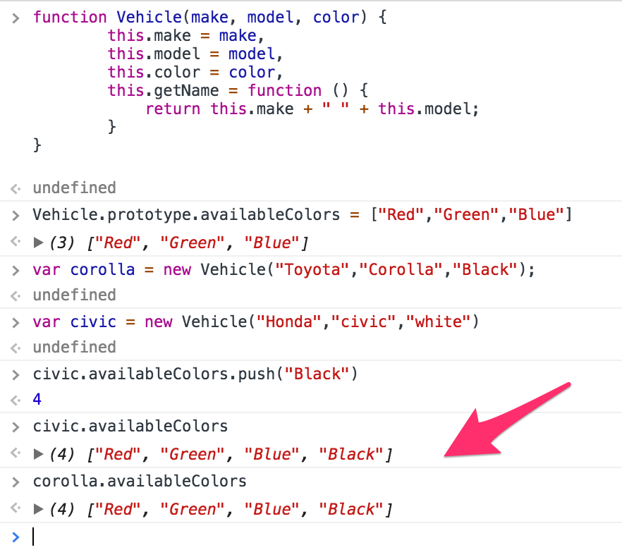 فئات JavaScript classes article-  instances Constructor 2