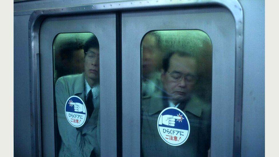 """Эту фотографию Вольф сделал в том самом 1995 году, когда у него родилась идея """"Токийского сжатия"""""""
