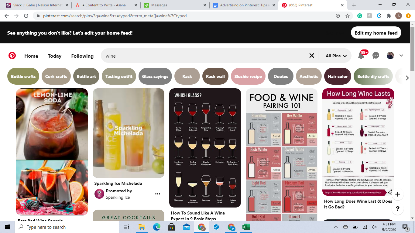 Use compelling images when advertising on Pinterest