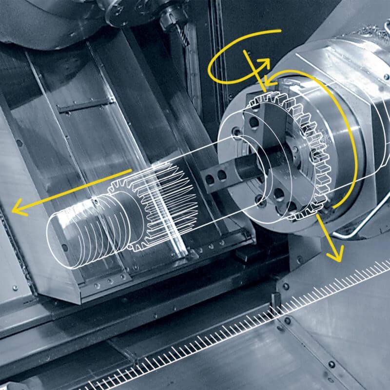 Động cơ bước sử dụng cho máy cắt gọt kim loại
