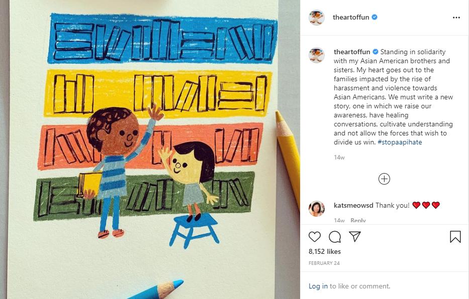 这是艺术家克里斯蒂安·罗宾逊在Instagram上发布的照片