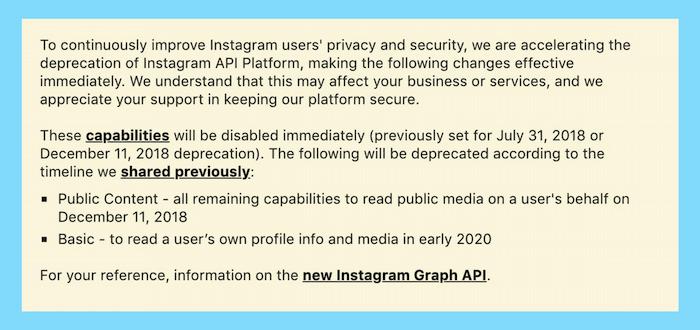 API Instagram