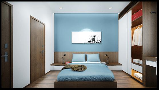 Thiết kế phòng ngủ con trai mẫu nhà ống 3 tầng 4x12m