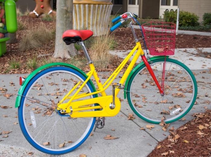 mơ thấy xe đạp màu vàng