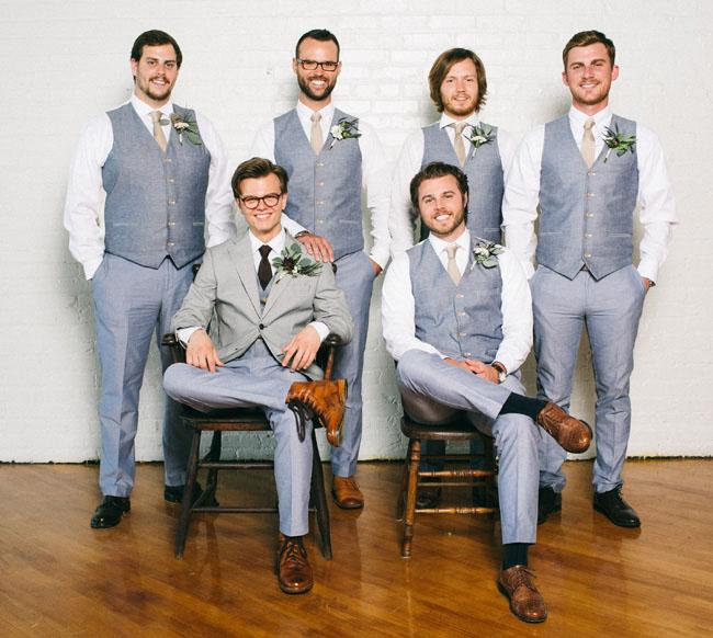 男性婚禮穿搭 心幸福 婚禮小物