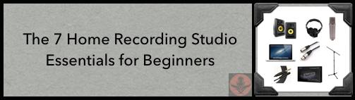 52d-home recording studio essentials