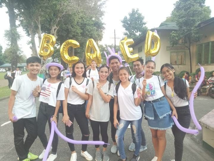 CAED students march in the College of Education Week Parade