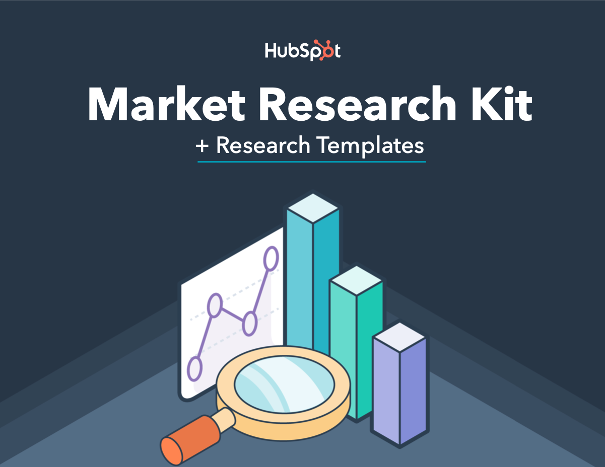 HubSpot's market research kit plus templates