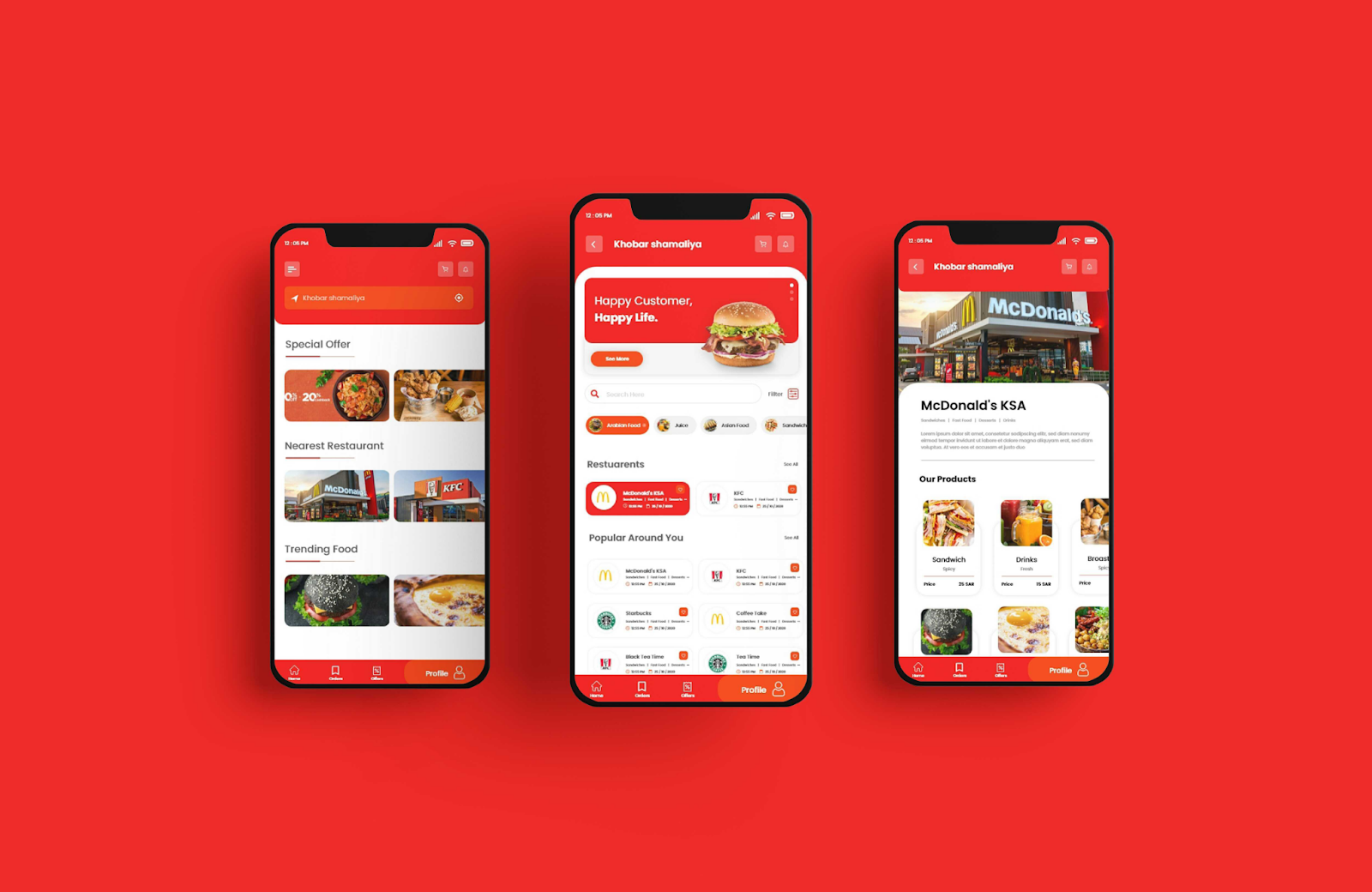 Restaurant Table Reservation Cum Order Booking App - YelloStack Mobile App Development Company in Saudi Arabia