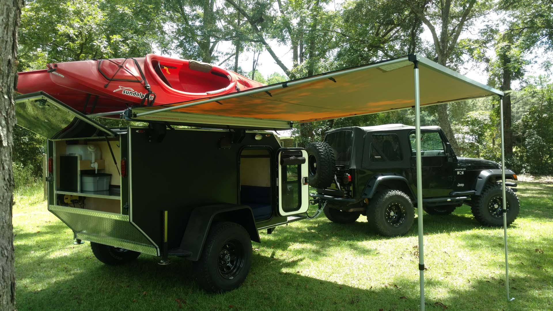 Big Franks Outdoors Vintage Trailer Works Command Camp