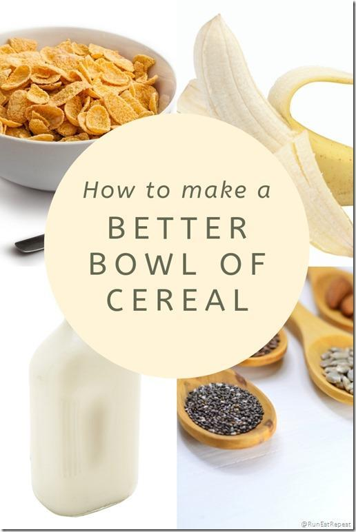 how to make a healthier bowl of cereal