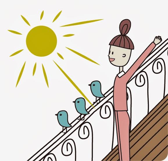幫助睡眠習慣:早上曬太陽