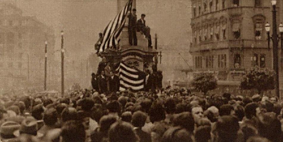 A Revolução Constitucionalista foi o último grande confronto armado do Brasil. (Fonte: WikiCommons)