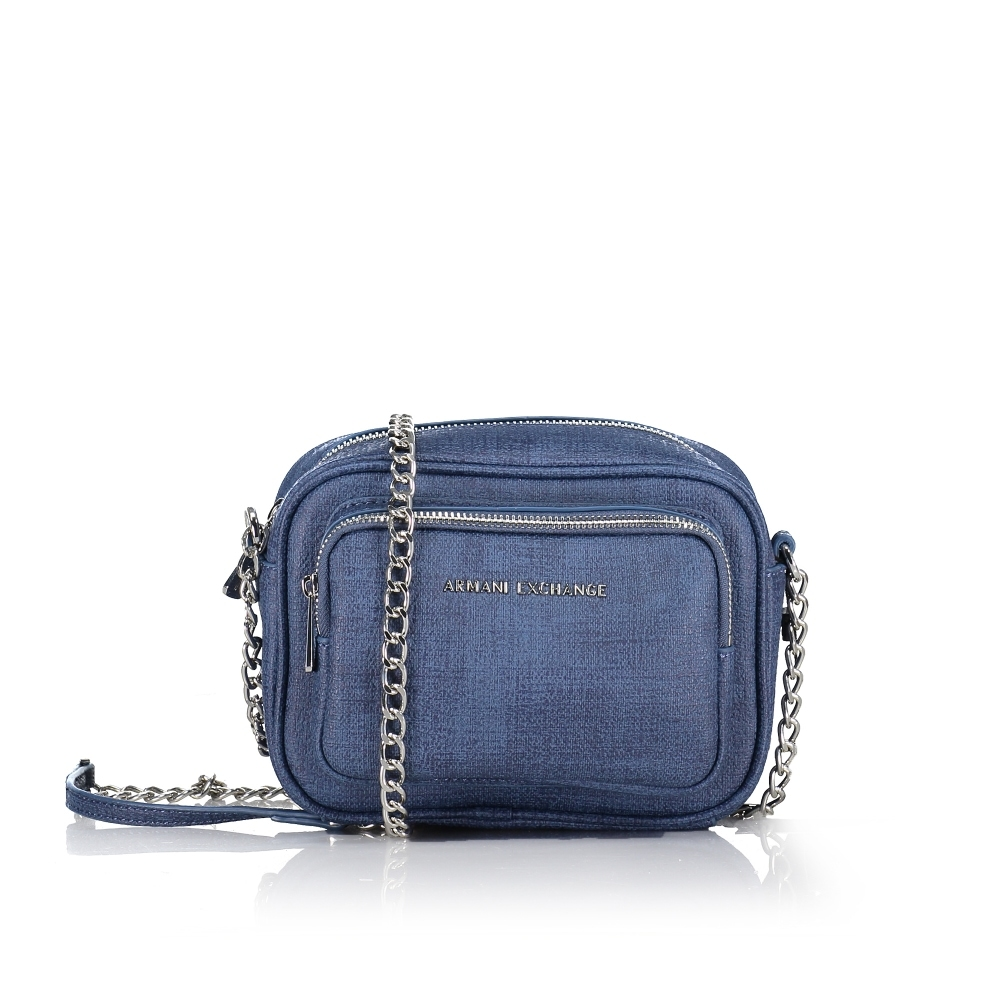 Armani Exchange Double-Zip Crossbody