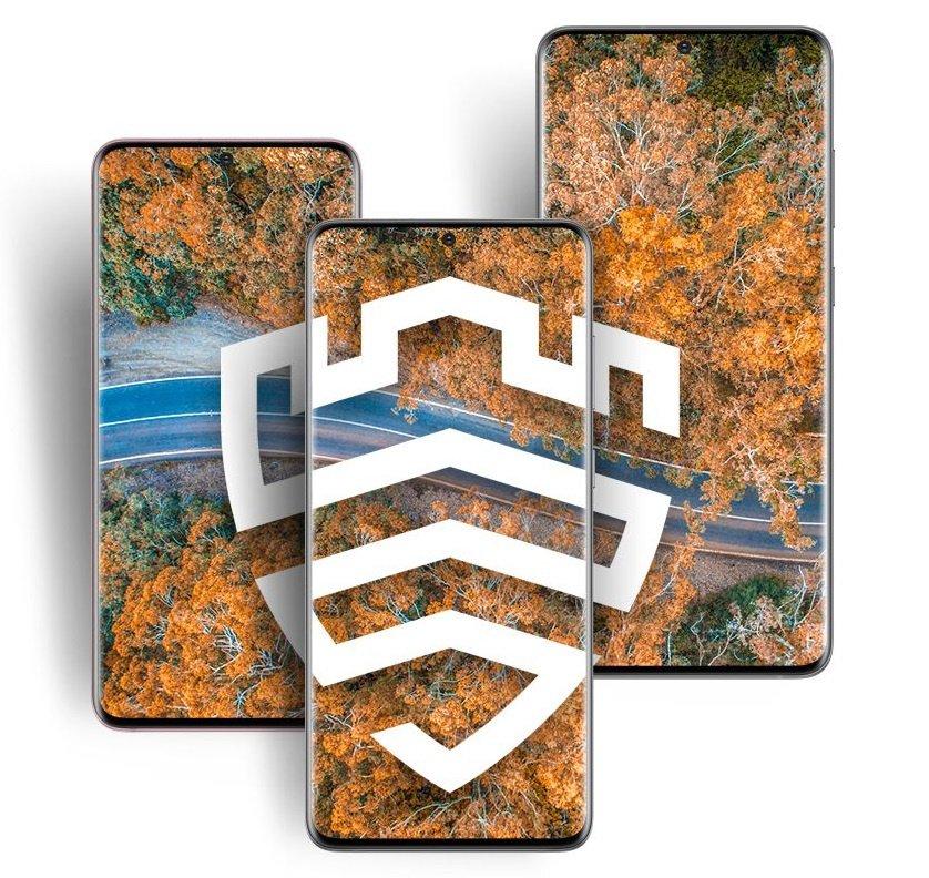 Защита смартфона Samsung Galaxy S20+ Gray