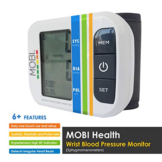 image of MOBI Health blood pressure monitor