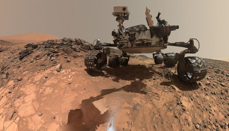 Robot tự hành Curiosity.