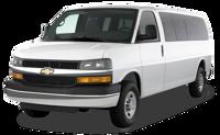 14 passenger mini shuttle van