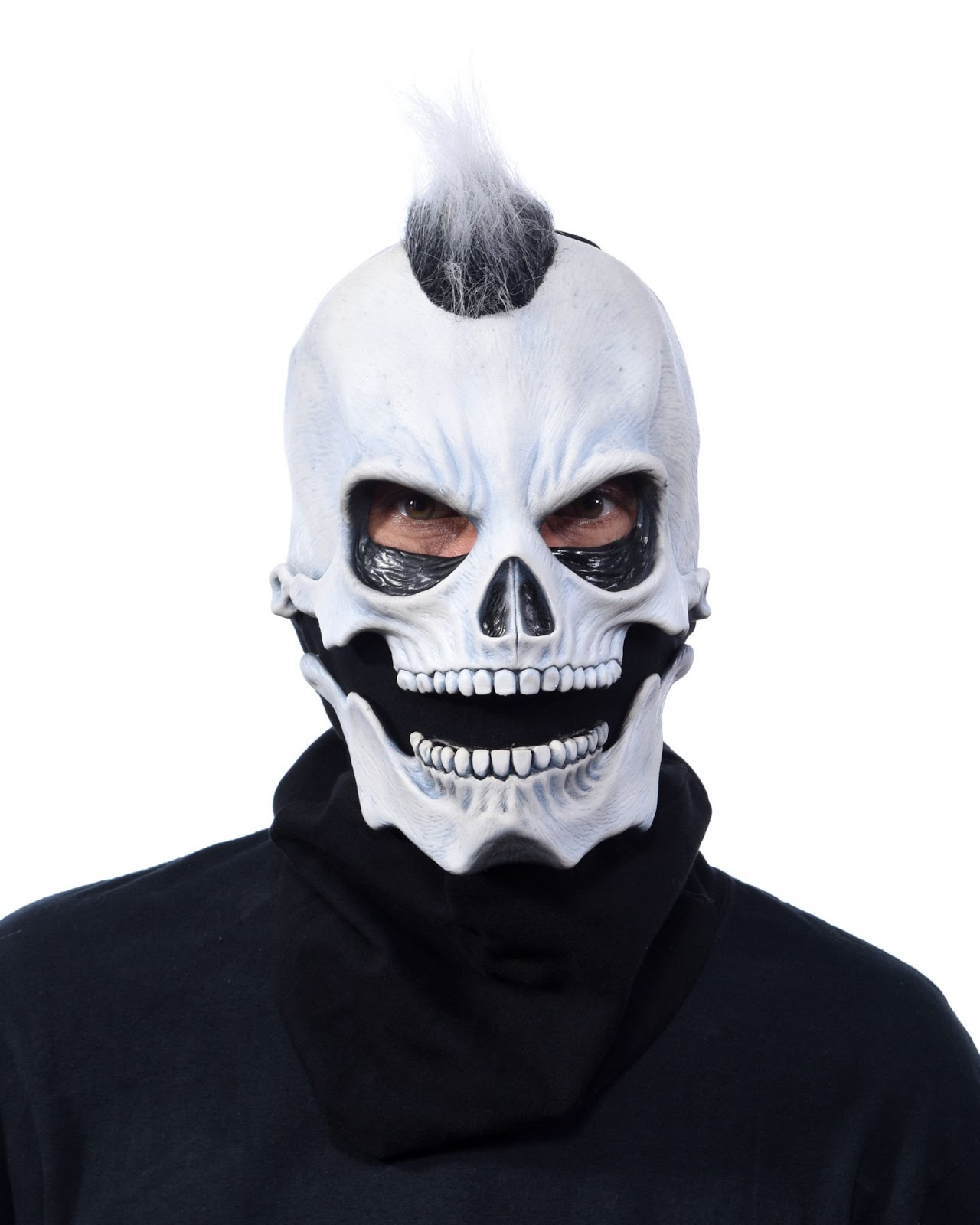 Skeleton Mask with moveable mouth