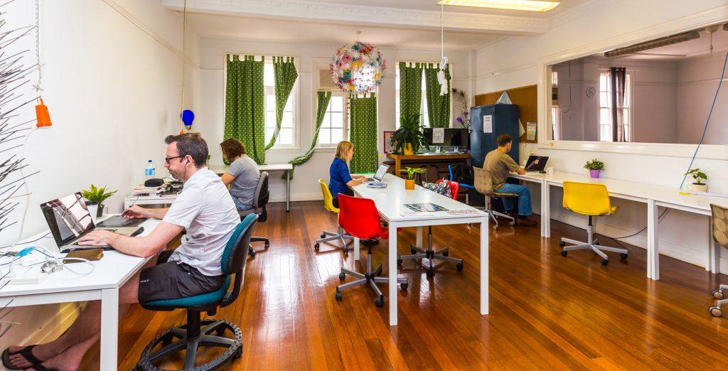 Salt Space Coworking Space Brisbane