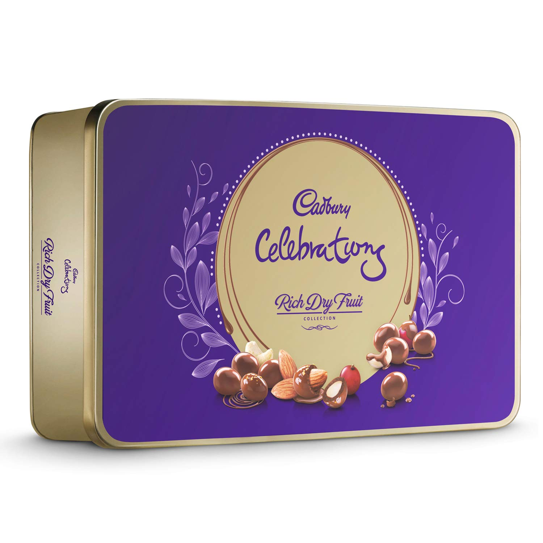 Cadbury Celebrations Rich Dry Fruit Chocolate Gift Box