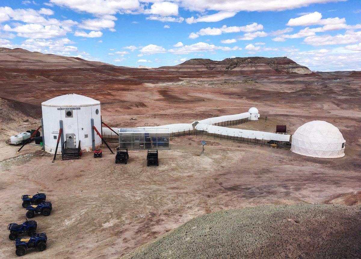 Mars Desert Research Station, 2017