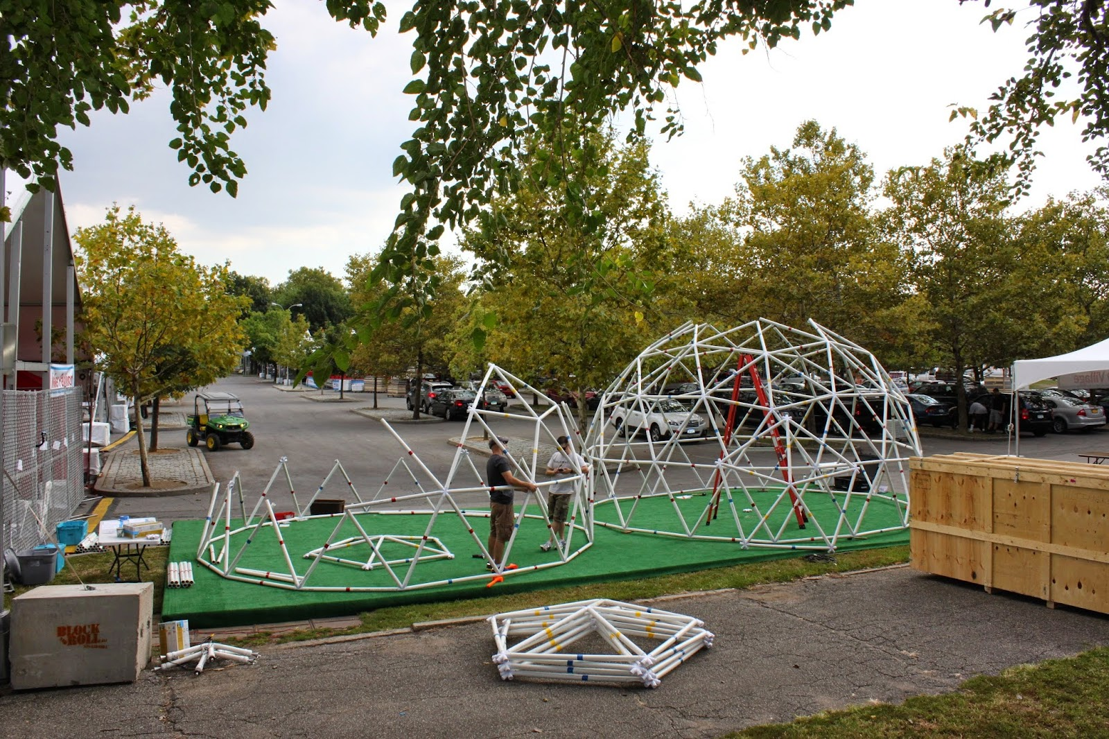 Building a pvc geodesic dome with sketchup sketchup blog - The geodesic dome in connecticut call of earth ...
