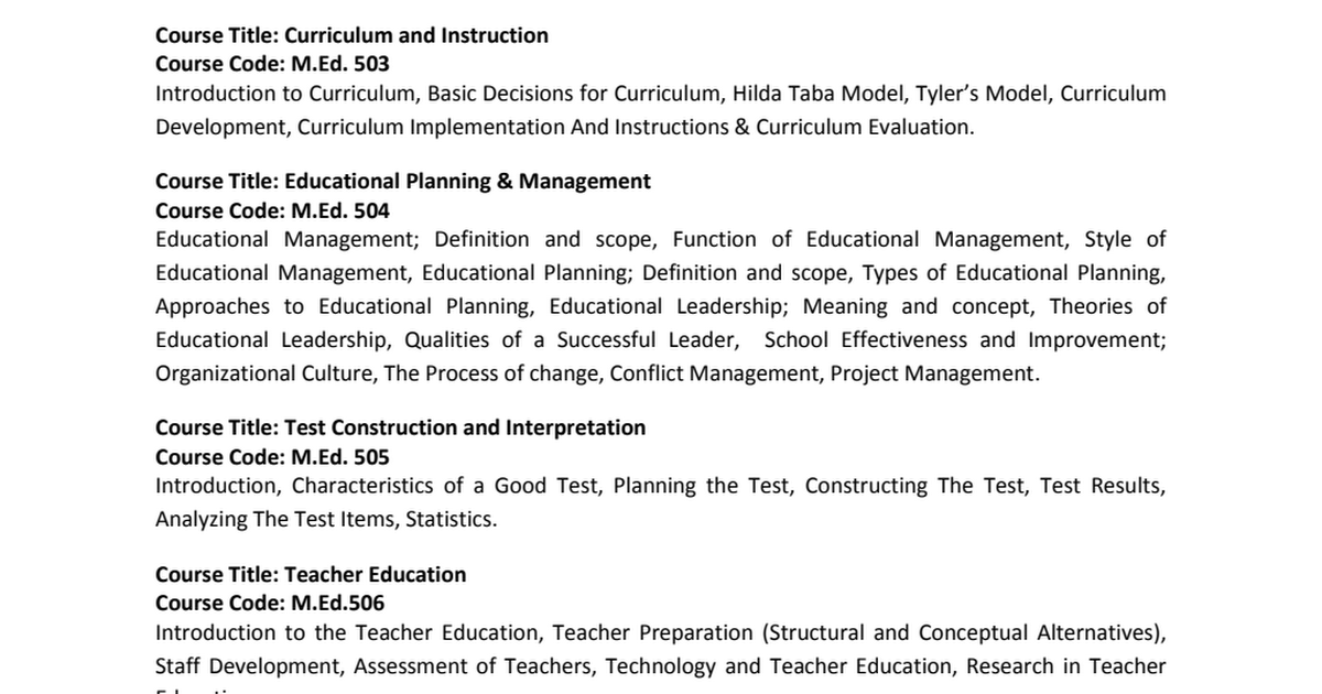 Course Content- MED pdf - Google Drive